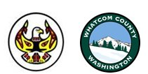 Lummi Indian Business Council and Whatcom County Health Department Logos