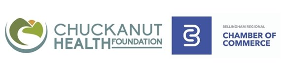 Chuckanut Health Foundation and Bellingham Regional Chamber of Commerce logos