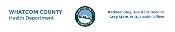 Whatcom County Health Department Letterhead