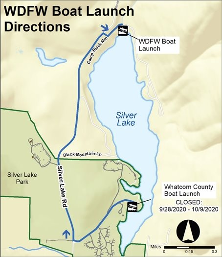 WDFW Boat Launch Directions