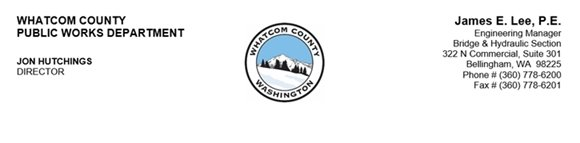Whatcom County Public Works Bridge and Hydraulic Section