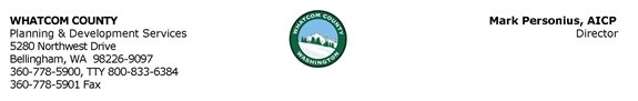 Whatcom County Planning & Development Services