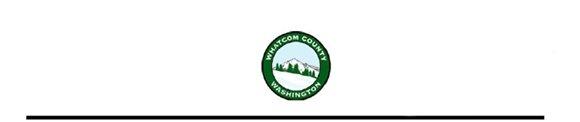 Whatcom County Seal for letterhead