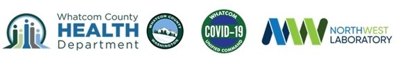 Whatcom county health department logowhatcom unified and Northwest Laboratory  command logo