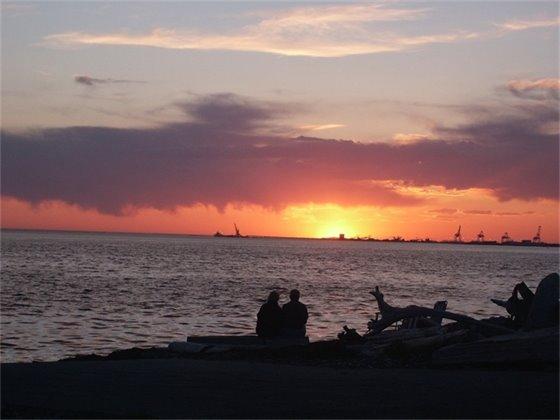 Lighthouse Marine Park Sunset