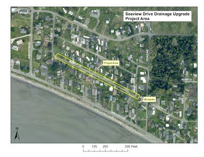 Seaview Dr Project Map