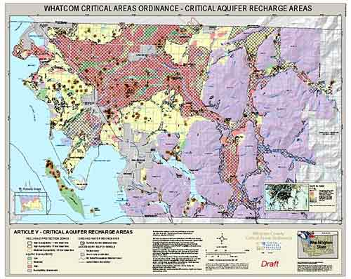 Critical Aquifer Recharge Areas Map