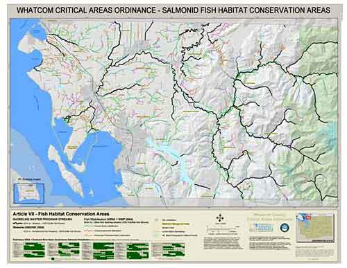 Fish Habitat Conservation Areas Map
