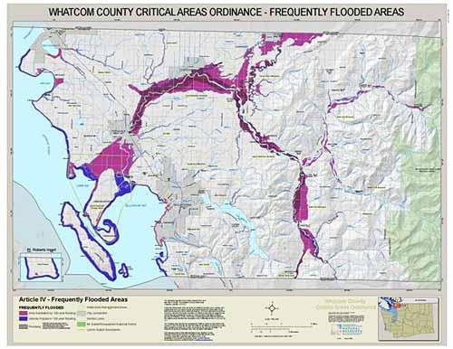 Ferndale Washington Map.County Wide Critical Area Ordinance Maps Whatcom County Wa