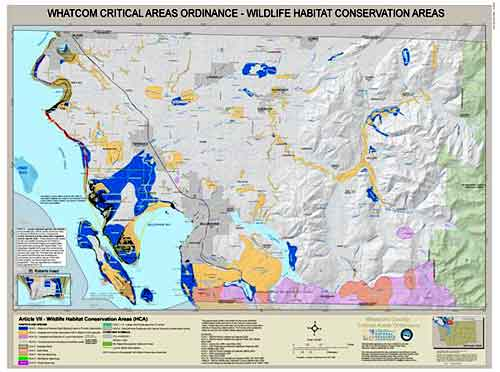 Wildlife Habitat Conservation Areas Map