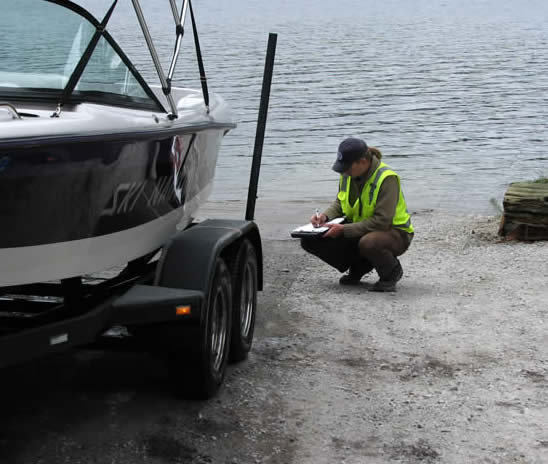 Lake Samish Boat Inspection