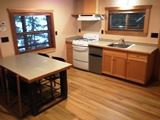 2017 Larabee Cabin kitchen