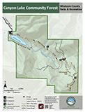 Canyon Lake Community Forest map icon 122x160
