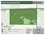 Jensen Family Forest Park map icon 123x160
