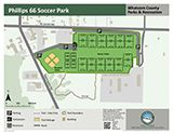 Phillips 66 Soccer Park map icon 160x124