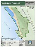 Teddy Bear Cove Park map icon 123x160