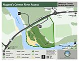 Nugent's Corner River Access map icon 160x124