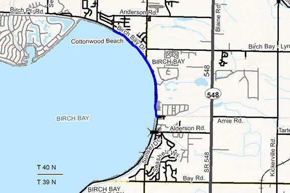 Birch Bay Drive Pedestrian Facility Project Whatcom County Wa