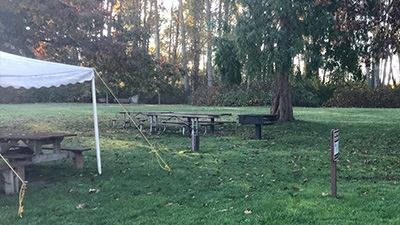 Hovander Water Tower Picnic Area Tables