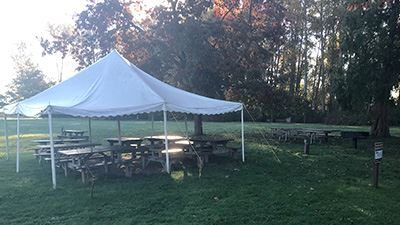 Hovander Water Tower Picnic Area Tent