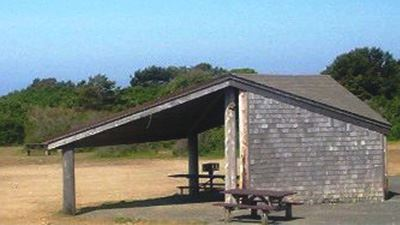 Lighthouse Picnic Shelter Side View