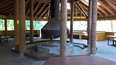 Maple Creek Picnic Shelter Fireplace