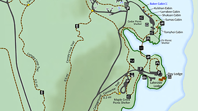 Silver Lake Park Map Detail