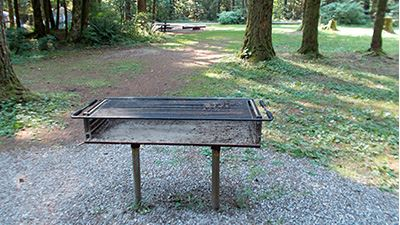 South Red Mountain Picnic Shelter Grill