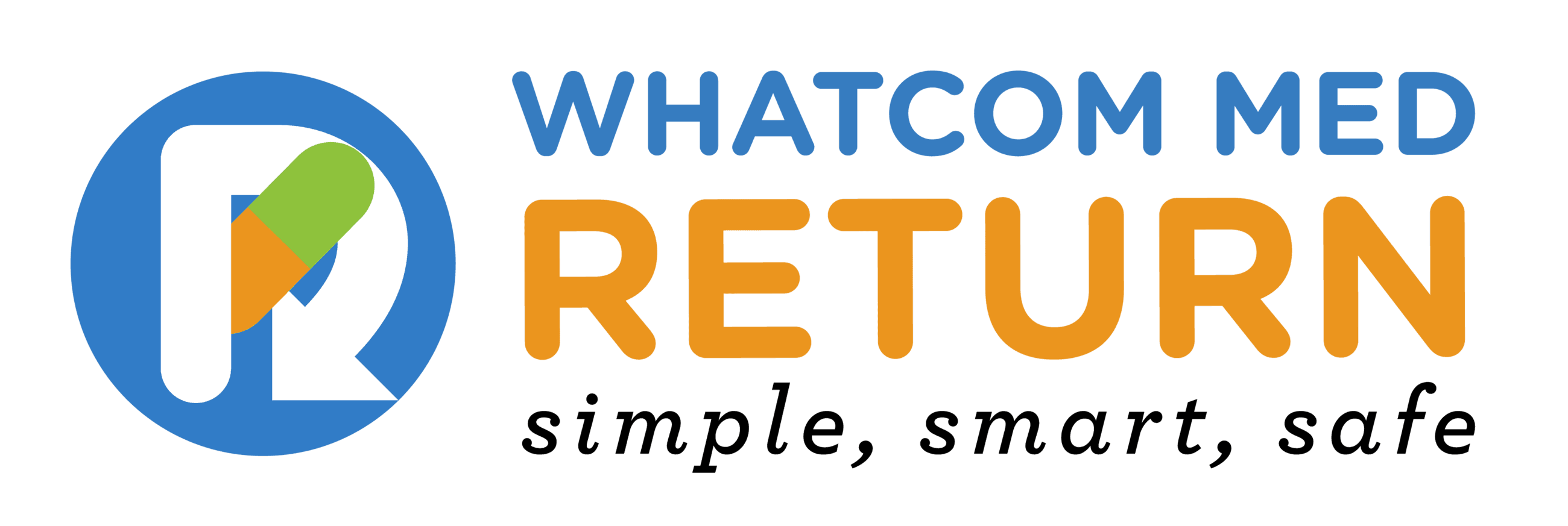 Whatcom Med Return logo