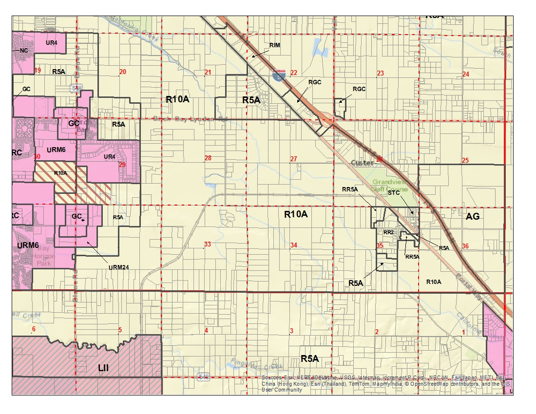 Whatcom County Zoning Map Zoning Maps | WhatCounty, WA   Official Website