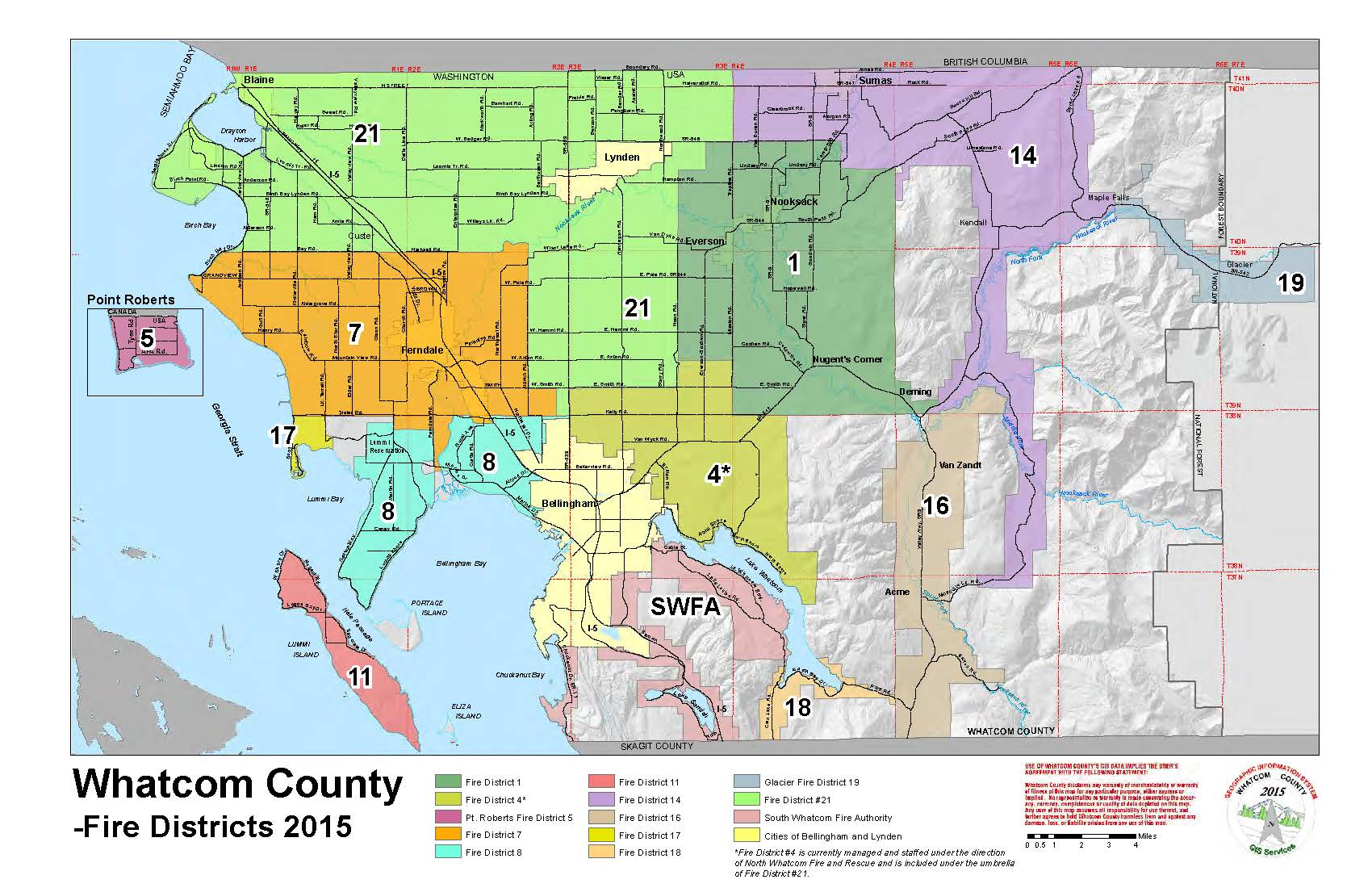 Whatcom County Zoning Map Other Maps | WhatCounty, WA   Official Website