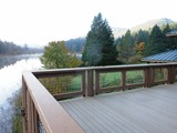 Silver Lake Lodge Deck View