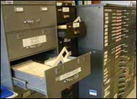 Records File Cabinet