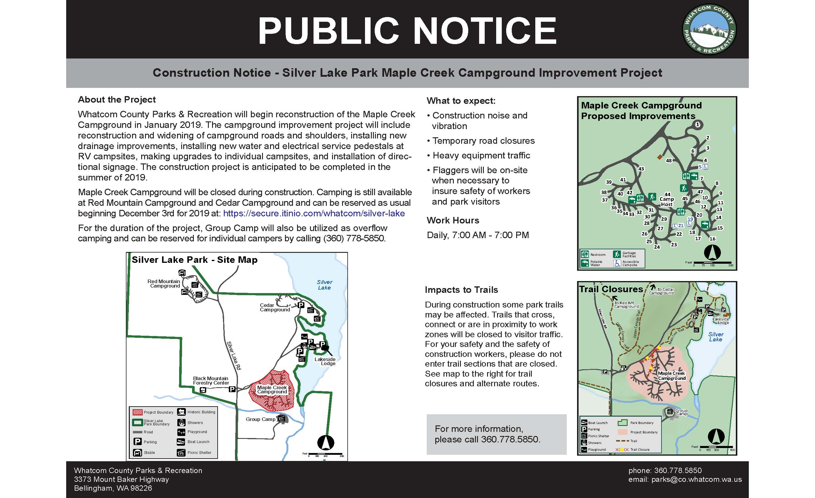 Silver Lake Park | Whatcom County, WA - Official Website