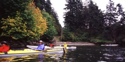 Seniors in Kayaks