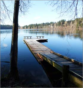 Lake Padden in Dec - A. Landry