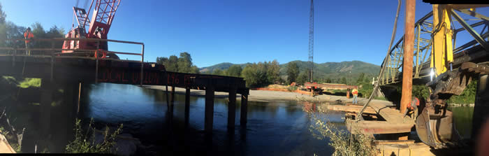 Panoramic View of Construction